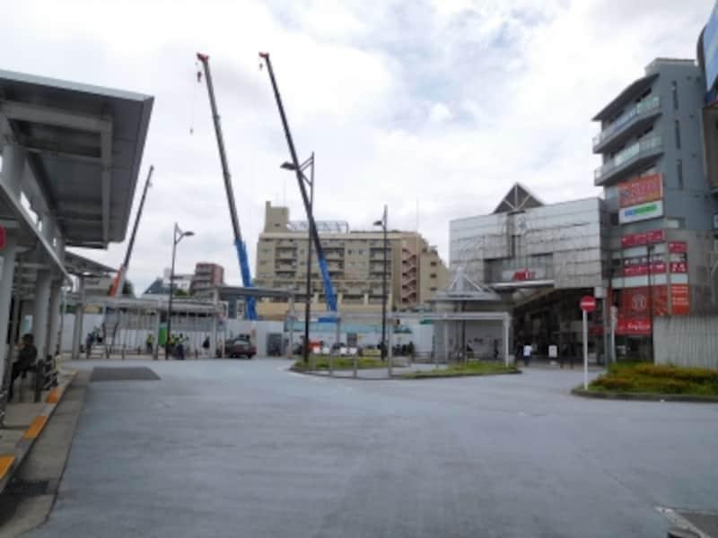 武蔵小山駅前の再開発地域