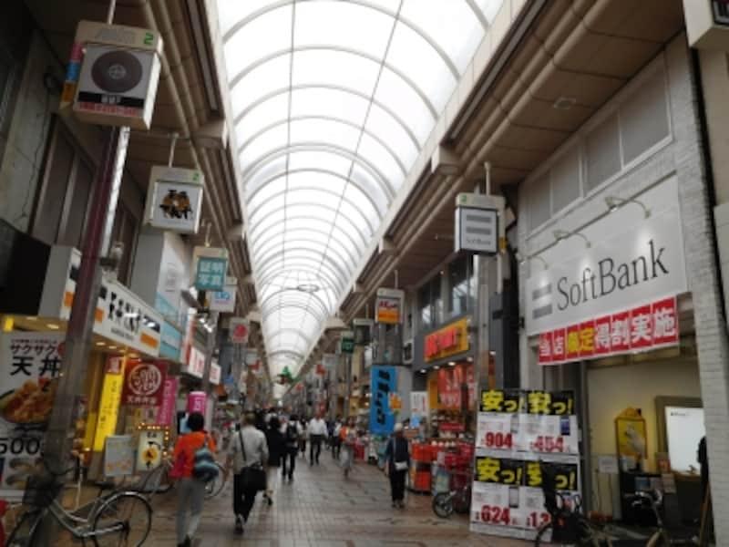 武蔵小山の商店街「パルム」