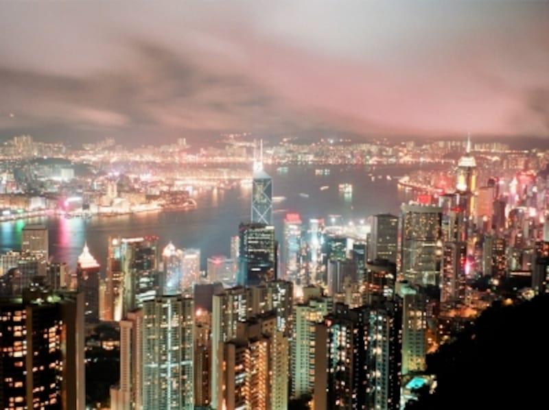 世界一の100万ドルの夜景、香港