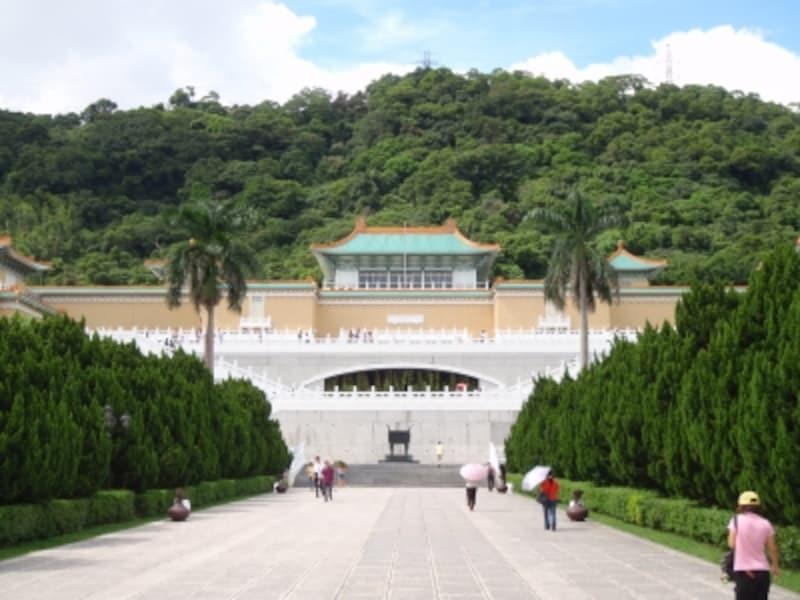台北にある故宮博物院。中国四千年のお宝がぎっしり