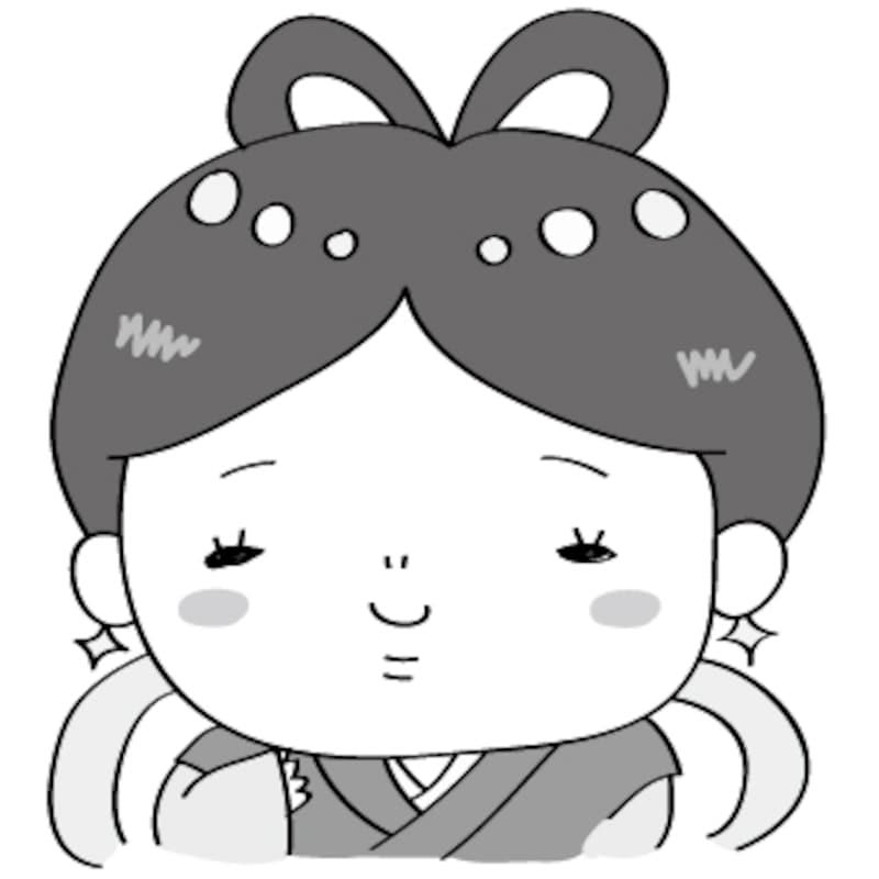 織姫 七夕 イラスト 白黒 かわいい
