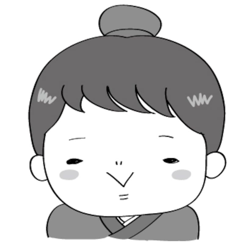 彦星 七夕 イラスト 白黒 かわいい
