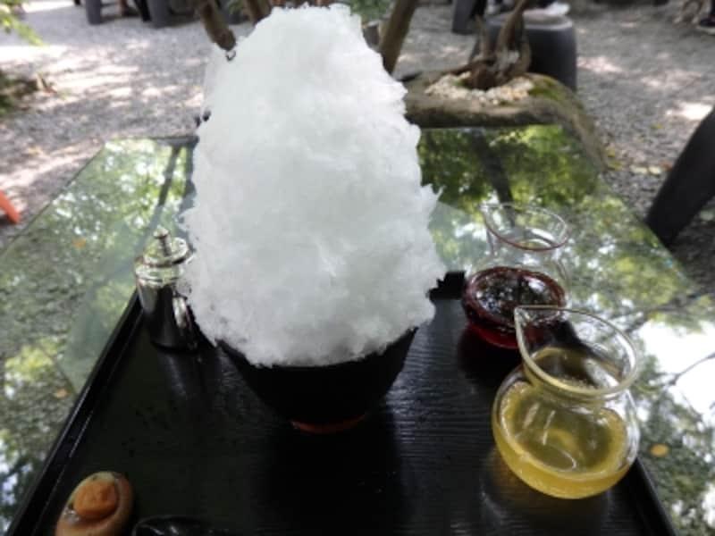金崎本店の果汁スペシャル(イチゴ・レモン)