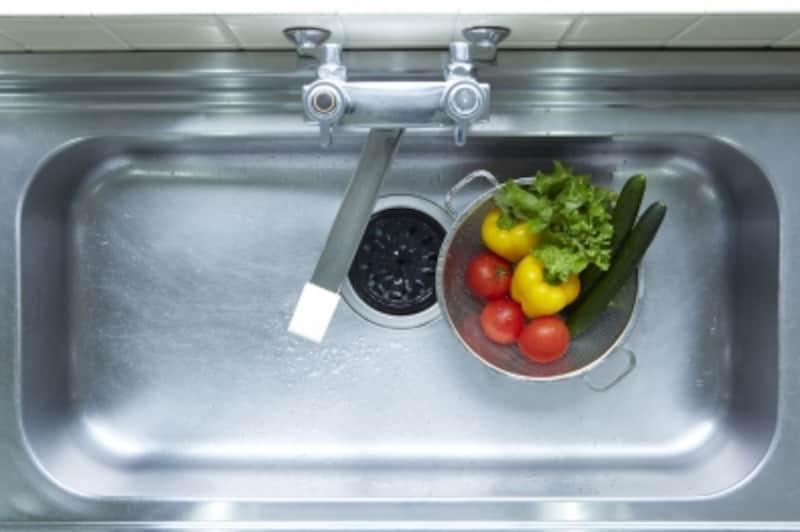排水口のゴミ受け汚れの原因は?