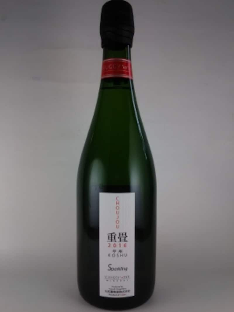 ハギースパーク重畳白スパークリング(2016/大和葡萄酒株式会社)