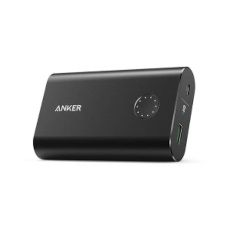 Ankerの「PowerCore+ 10050 QC3.0」。実売価格は3599円