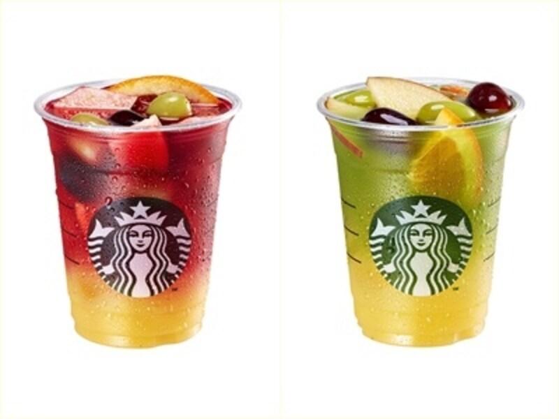 冷たい紅茶と果物ってすごく合う!フルーツそのままの食感も味わえるのがいい!