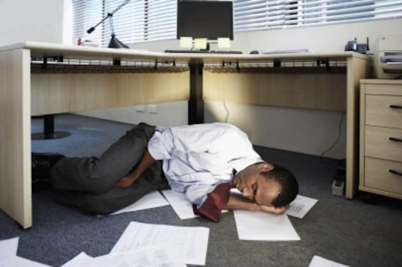 会社で仮眠