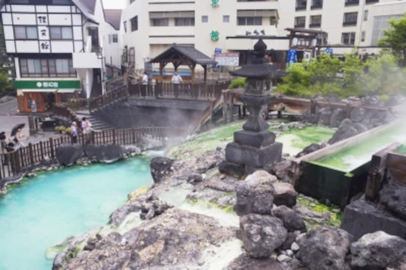 鉄道旅で疲れたら「草津温泉」でほっこり