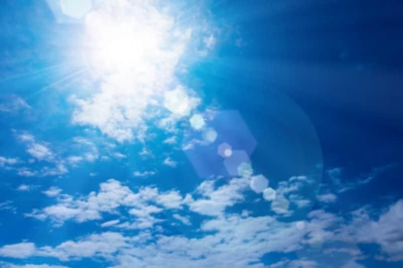 紫外線は5月がピーク!そのあとも夏の間、降り注ぎます。