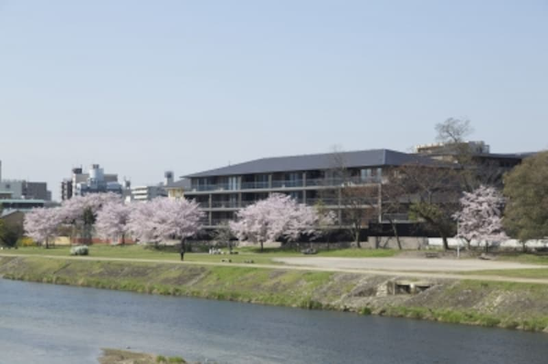 「ザundefinedパークハウス京都鴨川御所東」の外観