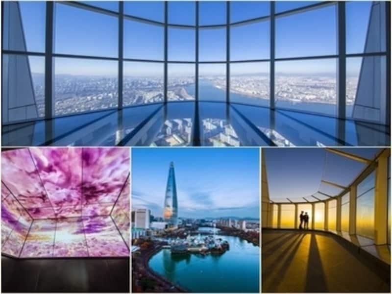 63ビルディングやNソウルタワーよりも高い場所からソウルを一望できる場所となりました!