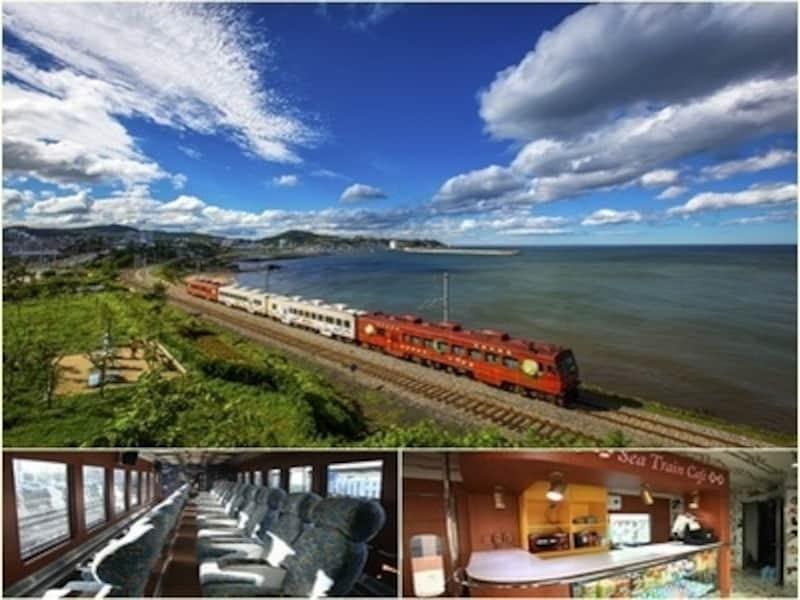 鉄道ファンじゃなくても楽しめるコース!観光専用列車ならではの快適さもあります
