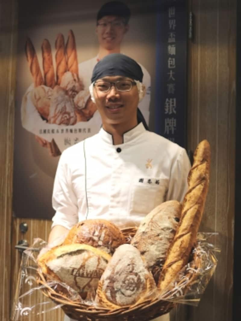 2016年準優勝に輝くチームの一員、謝忠祐さん
