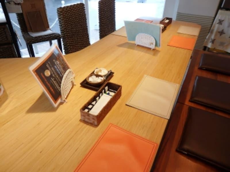 カフェカプアの内装