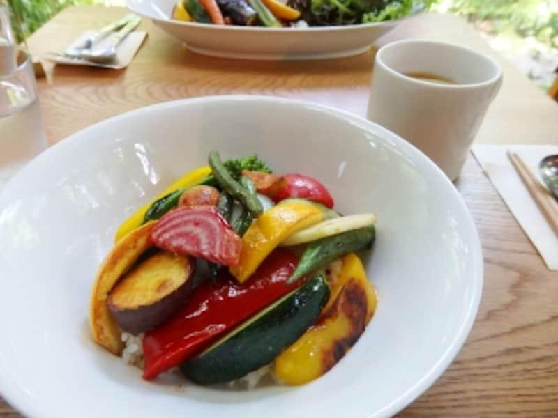 鎌倉野菜の丼