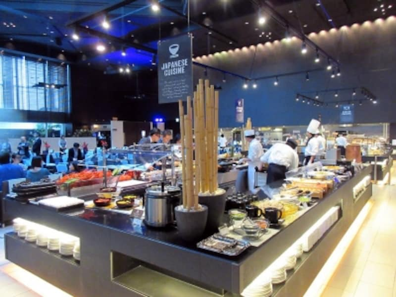 品川プリンスホテル和食のブッフェ台