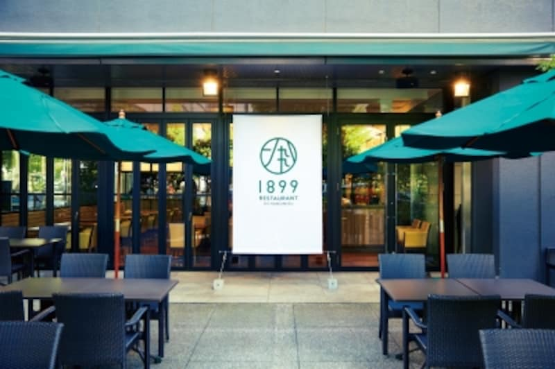 『レストラン1899お茶の水』のテラス席
