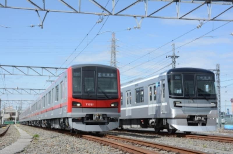 日比谷線の新型車両