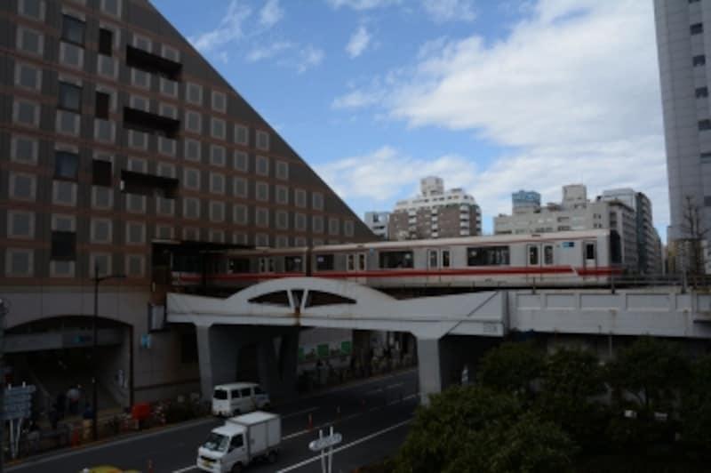 丸ノ内線後楽園駅