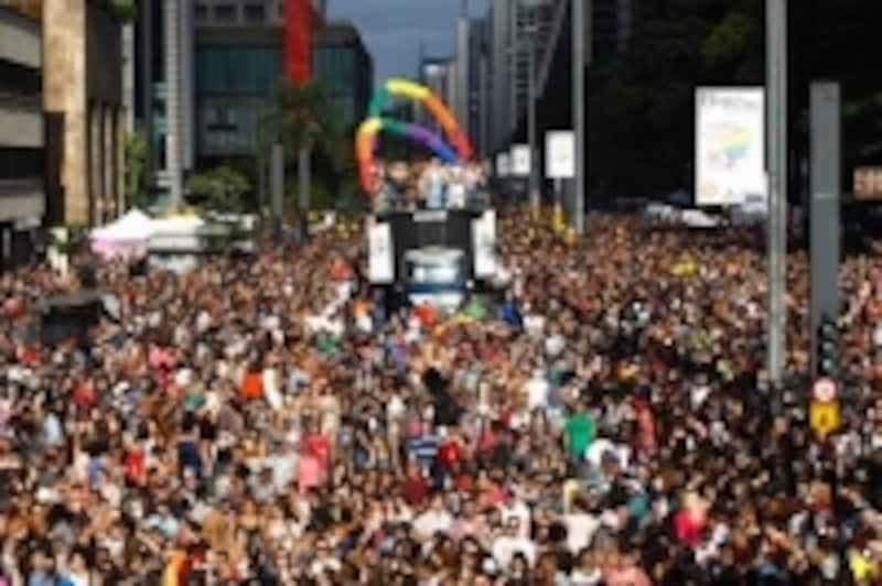 サンパウロのパレード