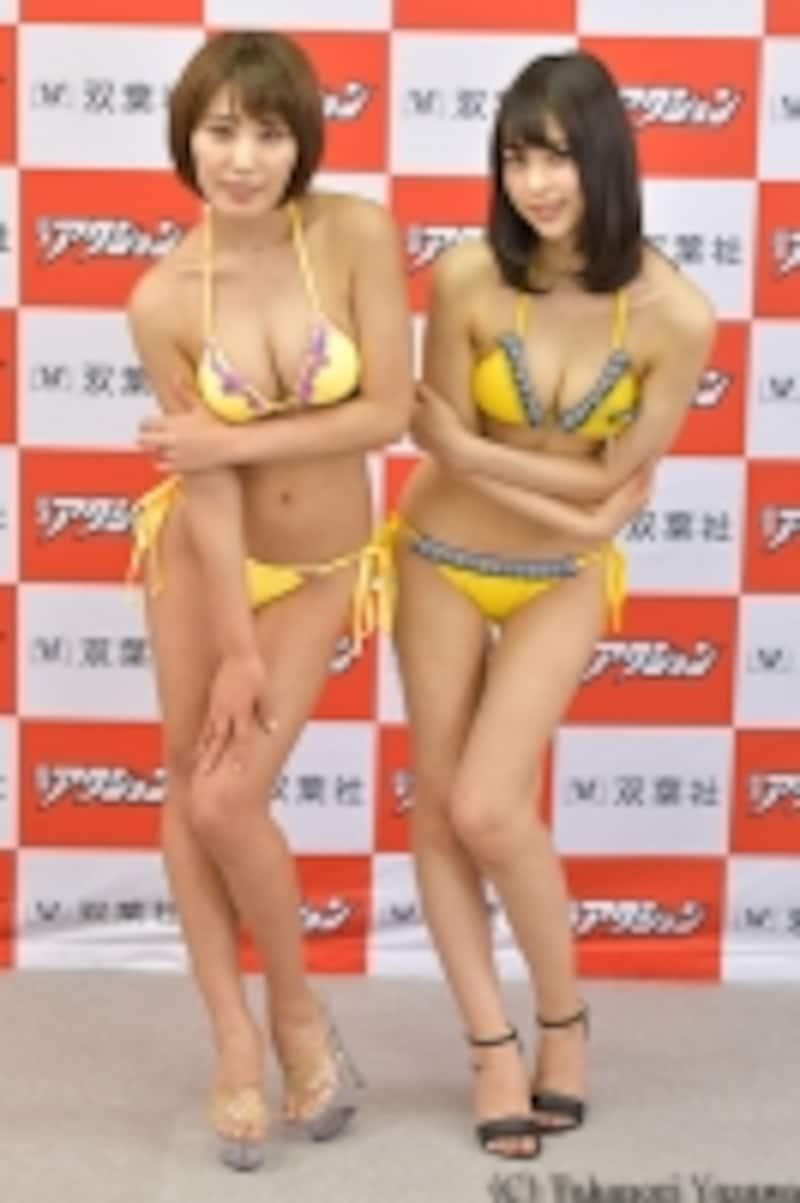 前期グランプリ金子智美ちゃんと山本成海ちゃん