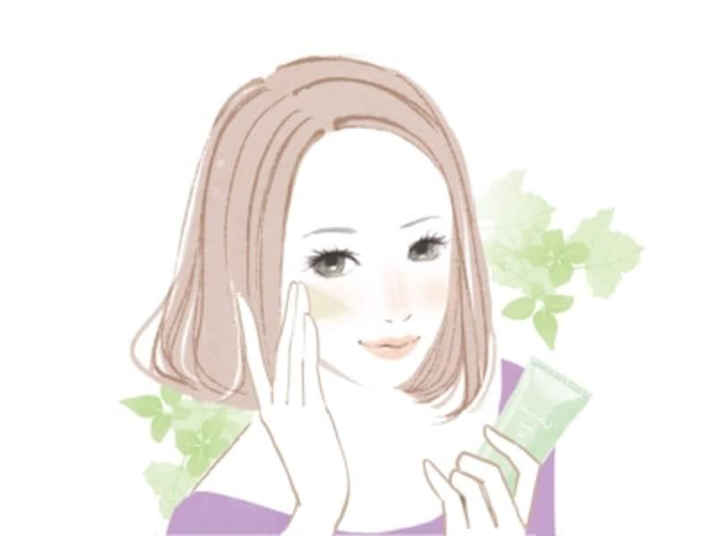 頬の赤みを隠す方法