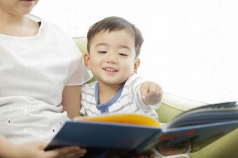 3歳の男の子の写真