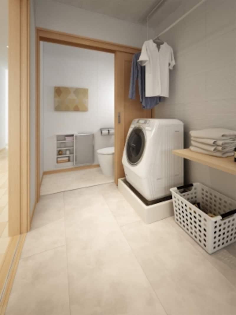 多湿時には余分な湿気を吸って結露やカビの発生を抑え、乾燥時には取り込んでいた湿気を放出し、調湿する。壁に付着したウイルスの繁殖を抑制。サニタリーはもちろんリビング、寝室にも。[さらりあ~とundefinedシンプルクリーン]undefinedDAIKENhttps://www.daiken.jp/