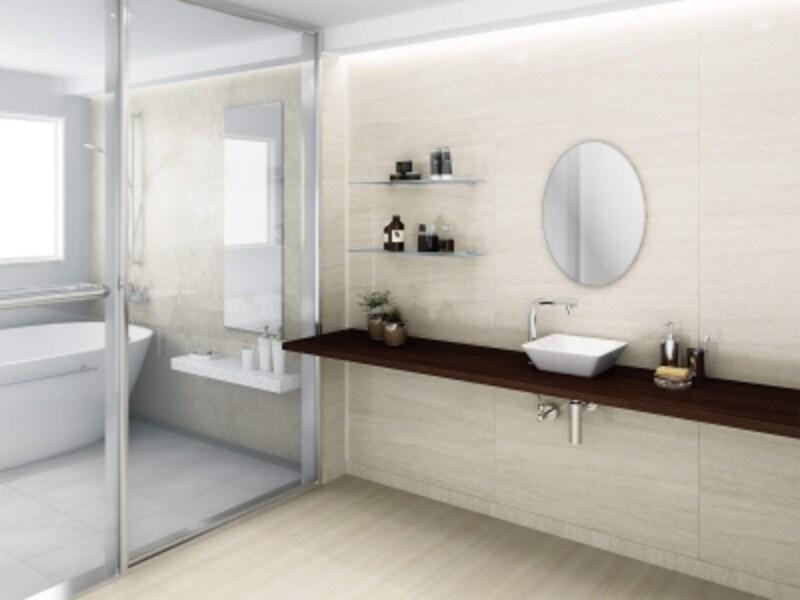 アンモニアなどの汚れに強い表面仕上げのため、トイレ、洗面、脱衣所など、カビが心配な場所に適する。草花柄や大理石柄、木目柄が揃う。[グラビオundefinedTA石目・抽象柄/木目柄]undefinedDAIKENundefinedhttps://www.daiken.jp/