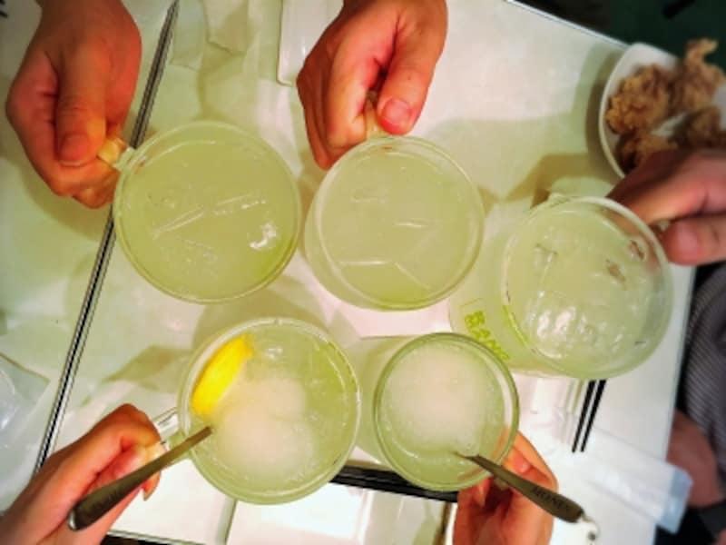 レモンサワー、恵比寿はしご酒!