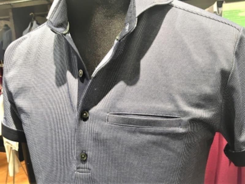 ポロシャツのサイズ感は「身幅」と呼ばれる胴回りと共に「アームホール」と呼ばれる半袖の腕まわりの太さが重要でした!