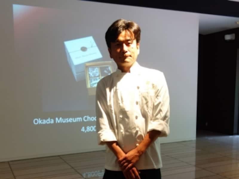 岡田美術館マスターシェフ三浦直樹さん