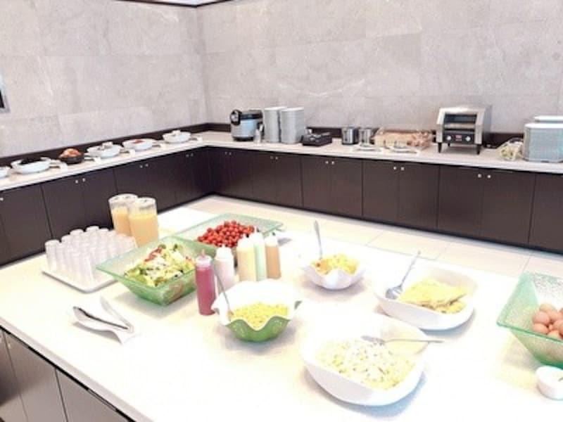 東横イン東城路店の朝食サービス