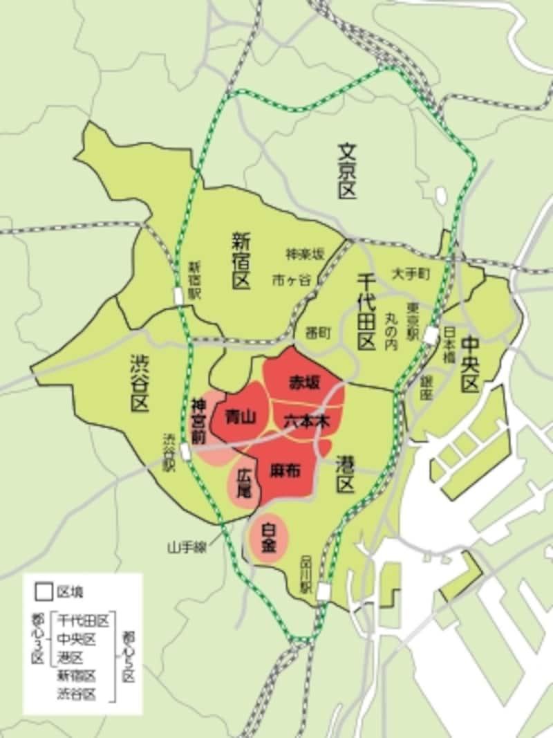 図3.3A地区マップ