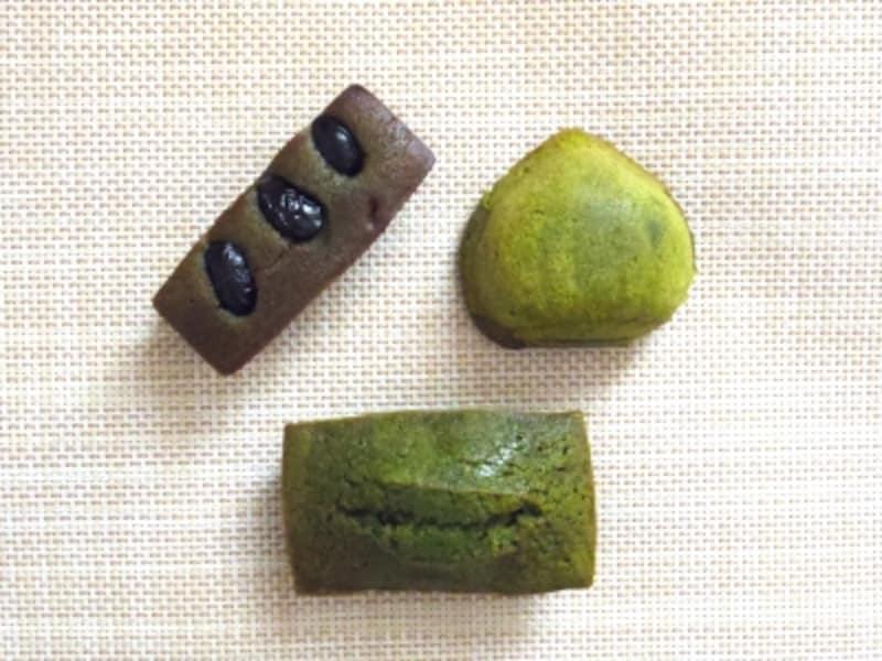 抹茶を使った洋菓子