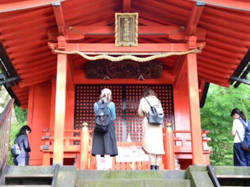 箱根有数のパワースポット、九頭龍神社にお参り