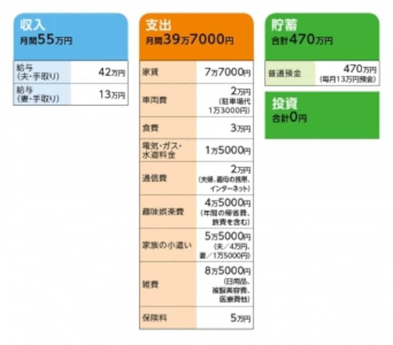 「ぴぃちゃん」さんの家計収支データ
