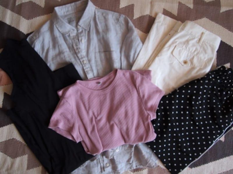 旅行用にはこの5着があればオシャレ面でも着回し面でも安心