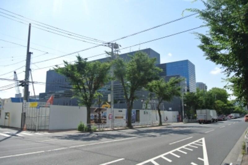 「プラウドシティ越中島」の建設地
