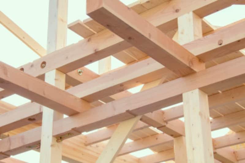 家の骨組みとなる木材の種類と使い方とは