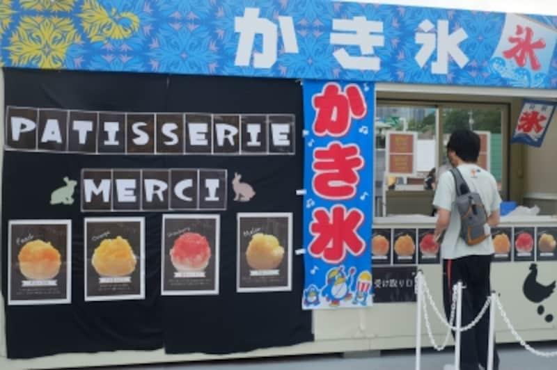 かき氷の名店も出展(写真は7月の第一弾開催時のもの)