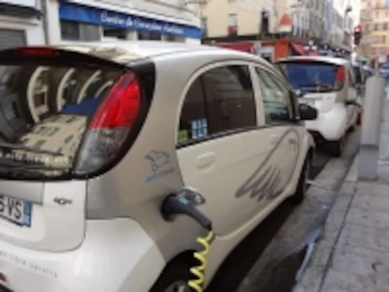 フランスのEV充電施設