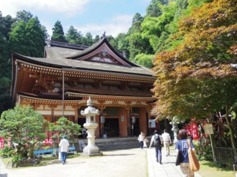 宝厳寺の本堂