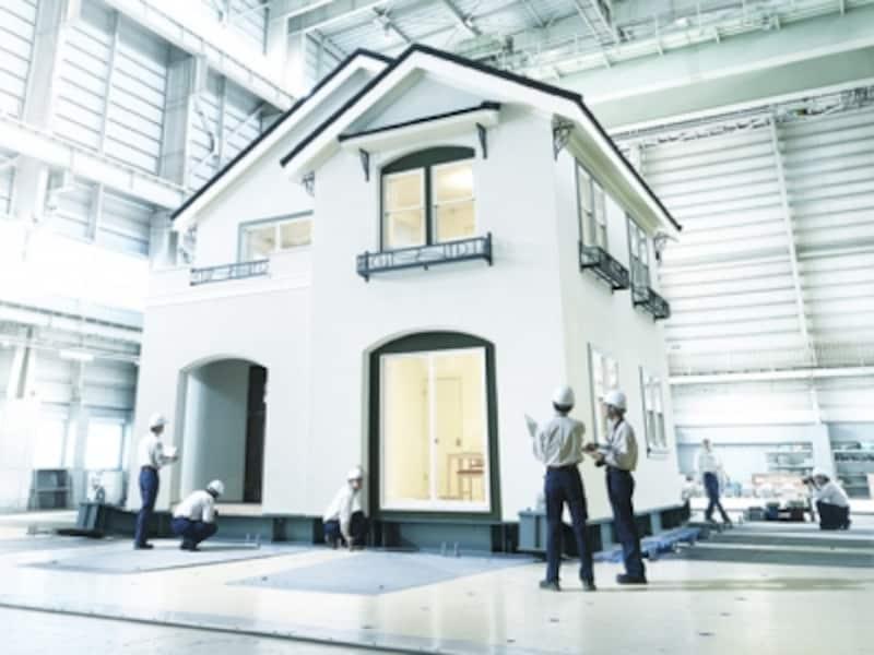 三井ホームundefined耐震実験の様子