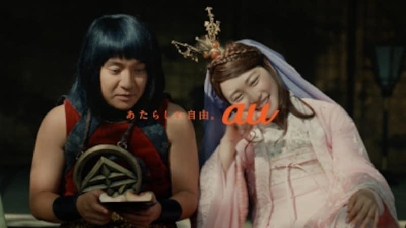 """""""三太郎シリーズ""""「ピタッとくる」篇のTVCMカット"""