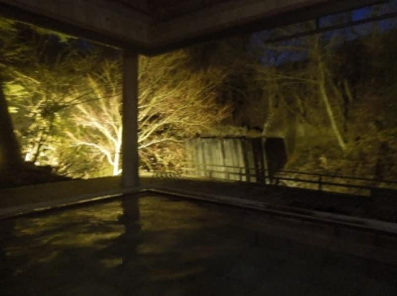 旅籠の露天風呂