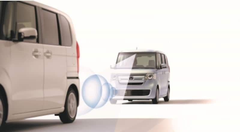 """軽自動車初の「レーダー+カメラ」使ったシステムを搭載など、""""特上""""の安全装備を用意"""