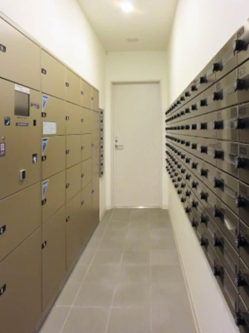 新築マンションの宅配ボックス