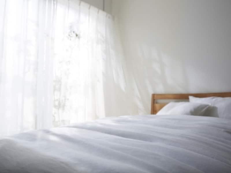 南向きの寝室